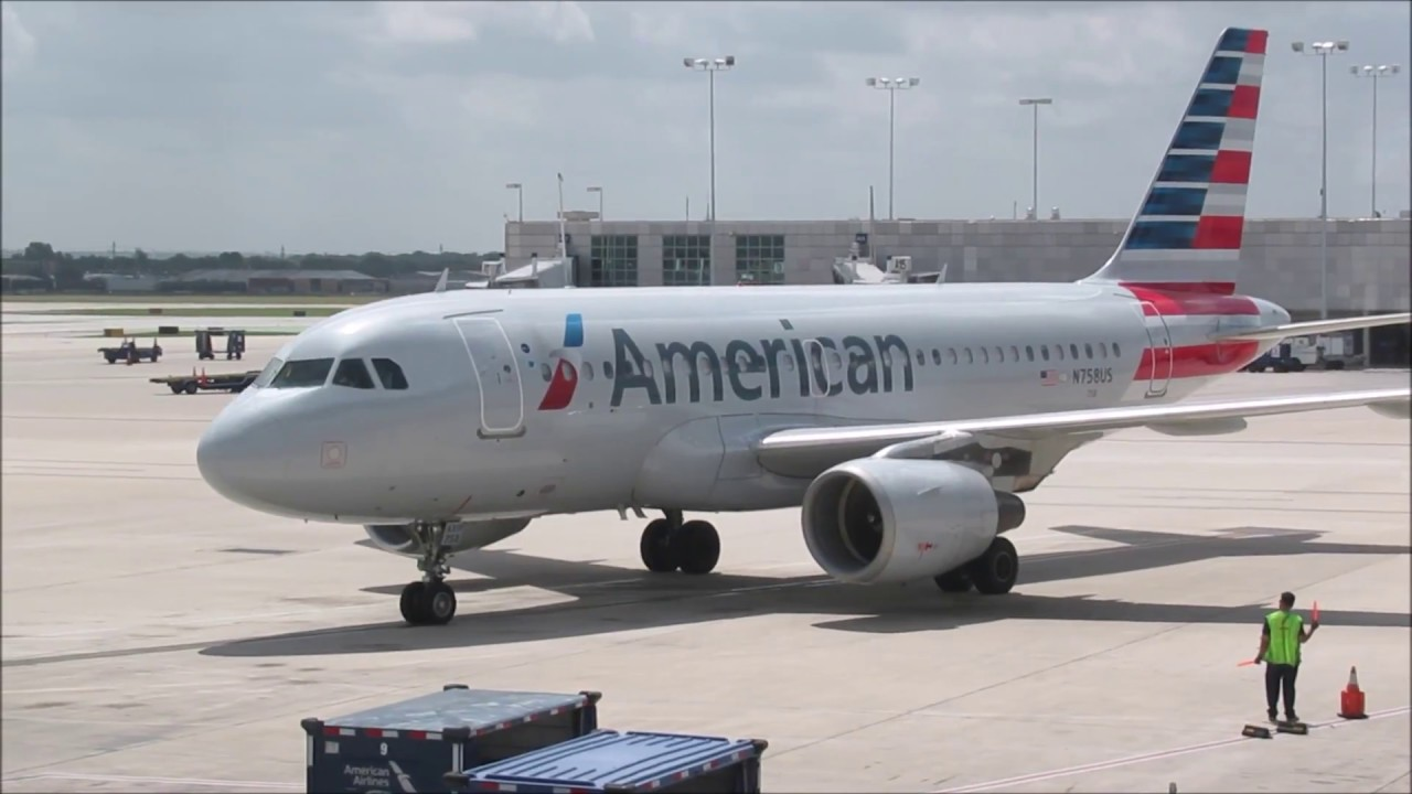 Full Flight | American Airlines 1676 | Airbus A319 | San Antonio to Dallas