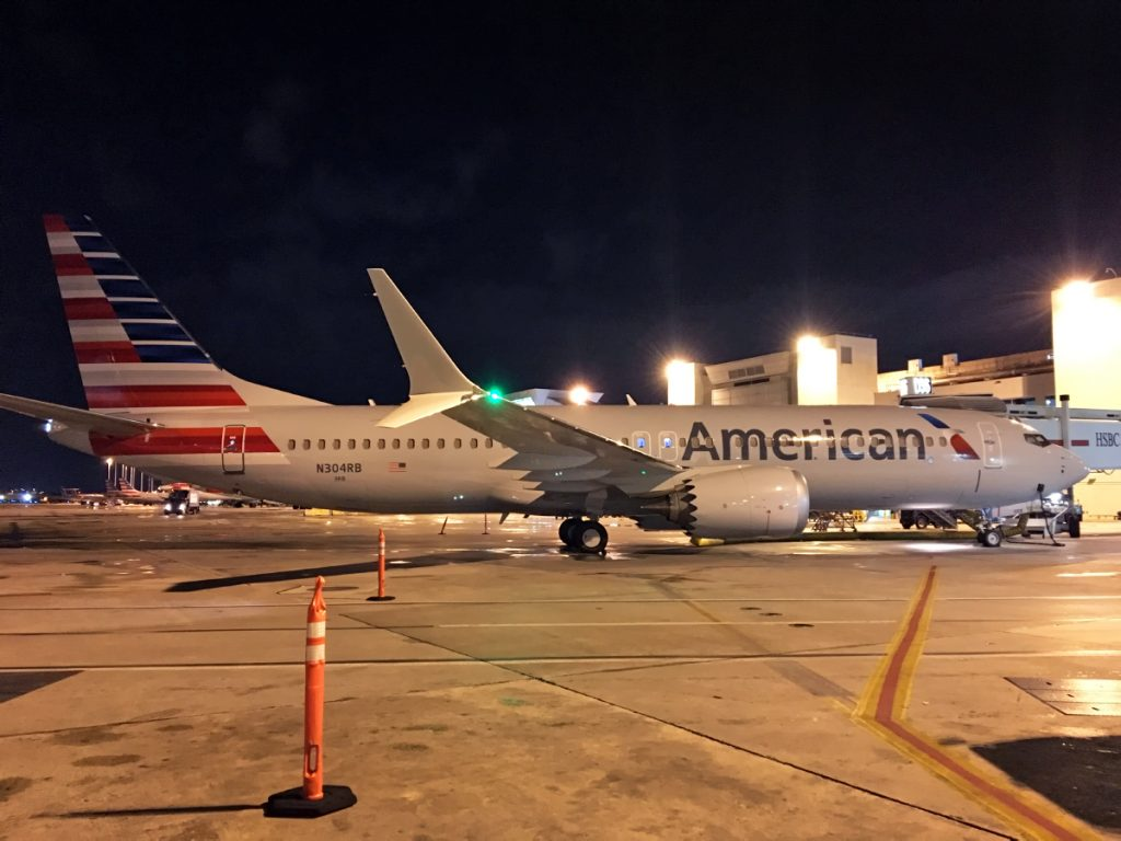 Full Review Onboard American Airlines First Boeing 737 MAX 8 flight