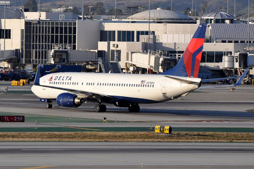 MSN 30265 LN 340 B737-832 : 737 : 737-800 DELTA AIR LINES LAX AIRPORT
