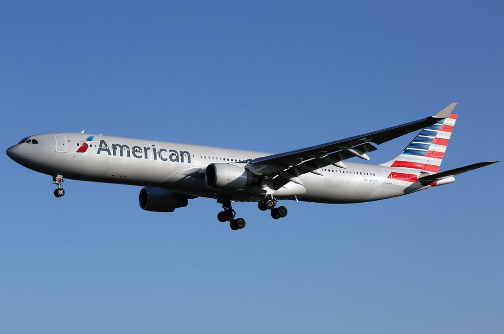 N270AY American airlines airbus a330-300