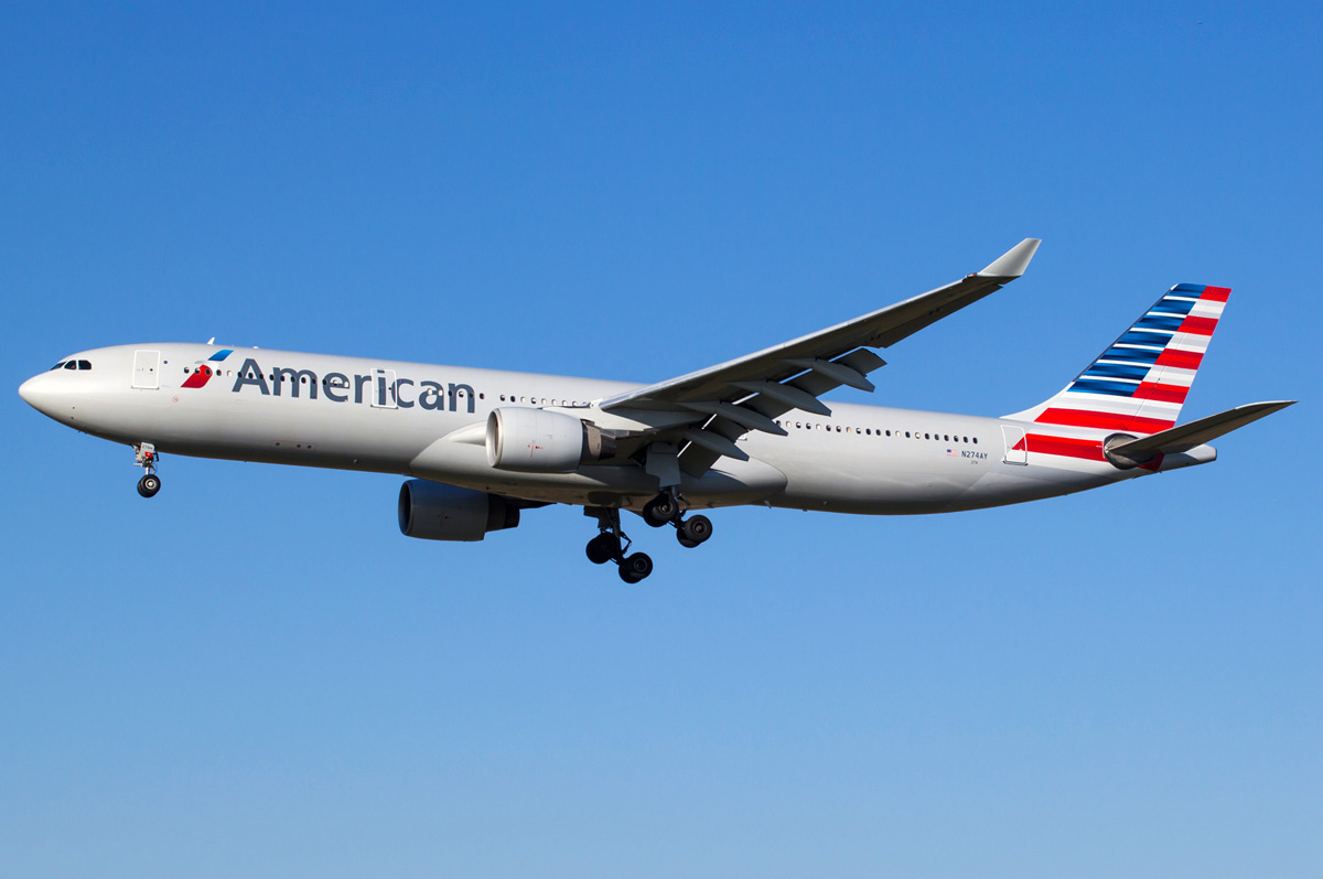 N274AY American Airlines Airbus A330-323