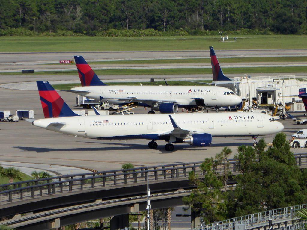 N318DX Airbus A321-211 cn 7441 Delta Air Lines Orlando International