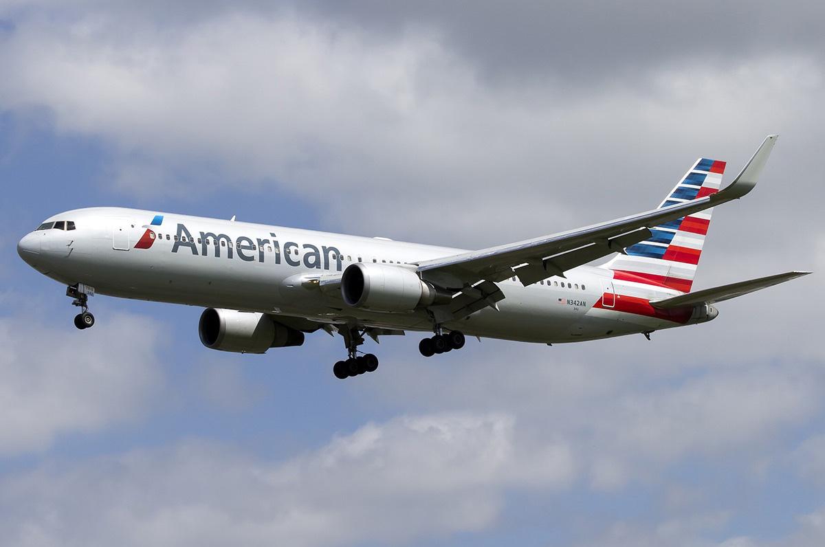 N342AN American Airlines Boeing 767-323erwl