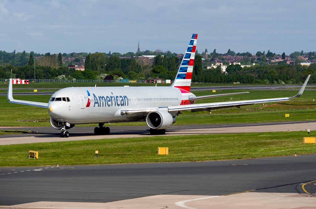 N349AN American Airlines Boeing 767-323erwl Photos