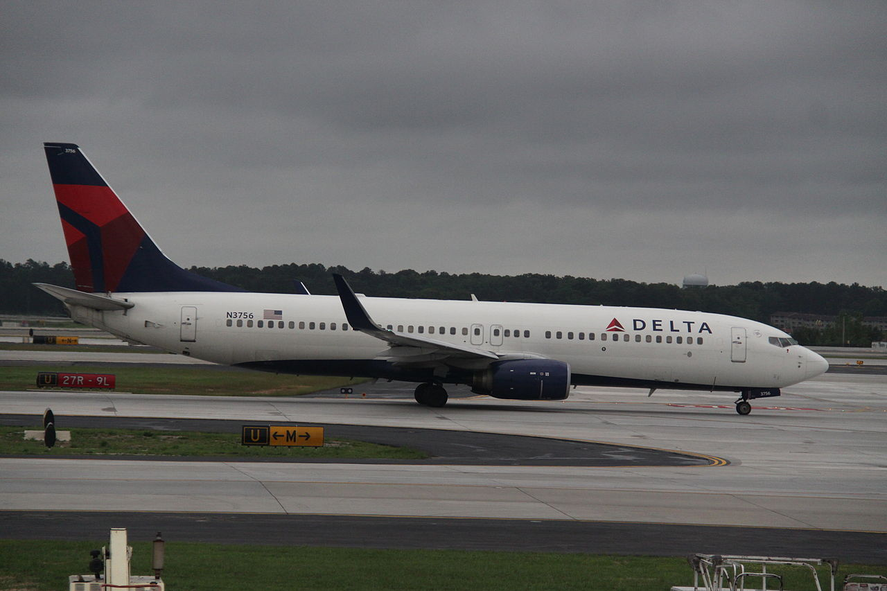 N3756 Boeing 737-800WL Delta Air Lines Fleet Taxiing at Hartsfield-Jackson Atlanta International