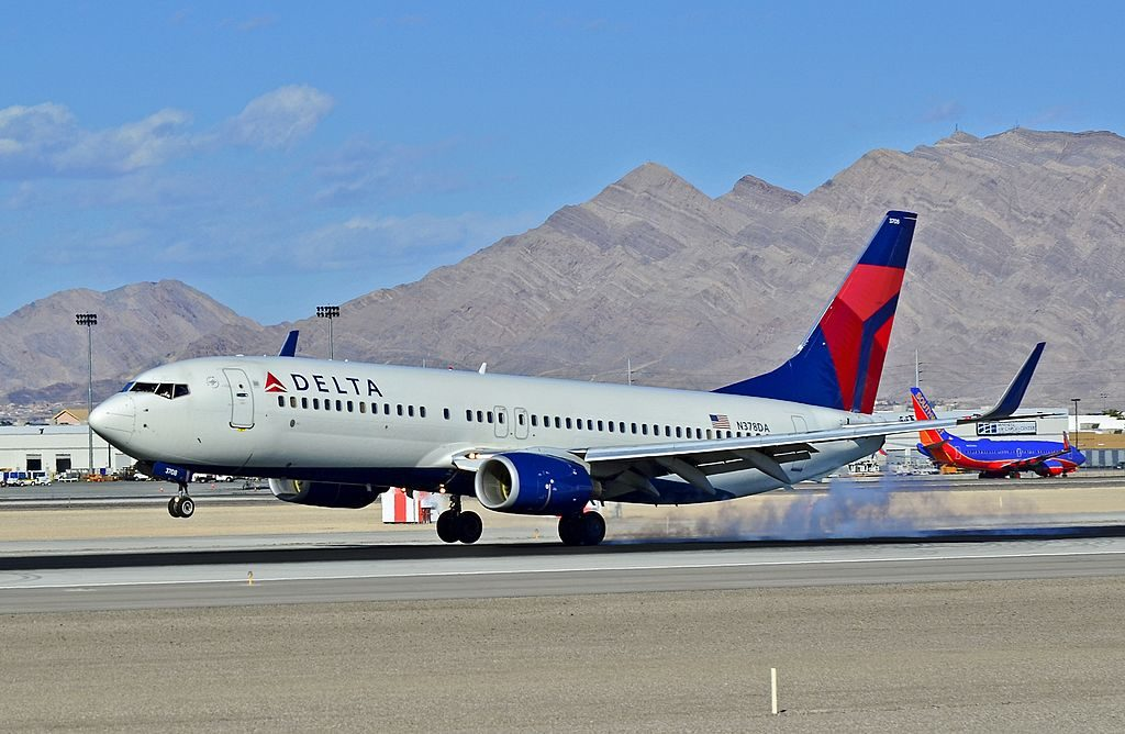 N378DA Delta Air Lines Boeing 737-832 Las Vegas - McCarran International (LAS : KLAS) USA - Nevada