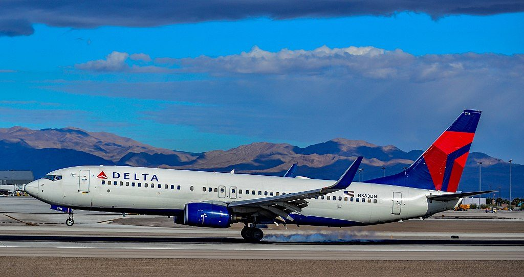 N383DN Delta Air Lines 1999 Boeing 737-832 - cn 30346 - 393 Las Vegas - McCarran International Airport (LAS : KLAS) USA - Nevada