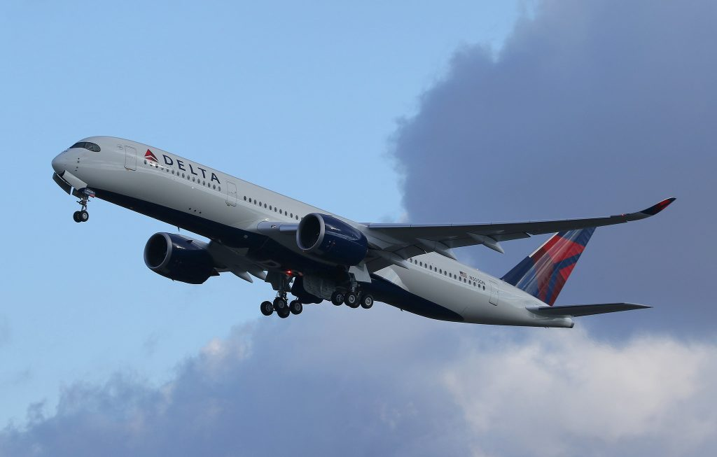 N505DN Airbus A350-941 Delta Air Lines Fleet Delivery Flight Photos