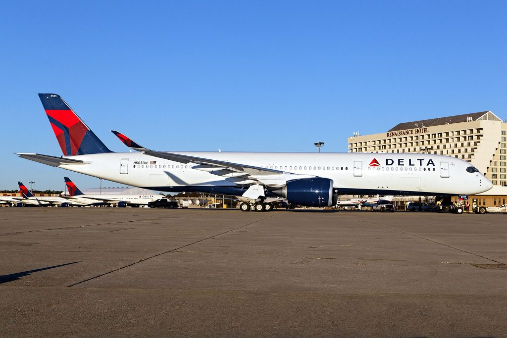 N505DN - Airbus A350-941 - Delta Air Lines - KATL Hartsfield–Jackson Atlanta International Airport