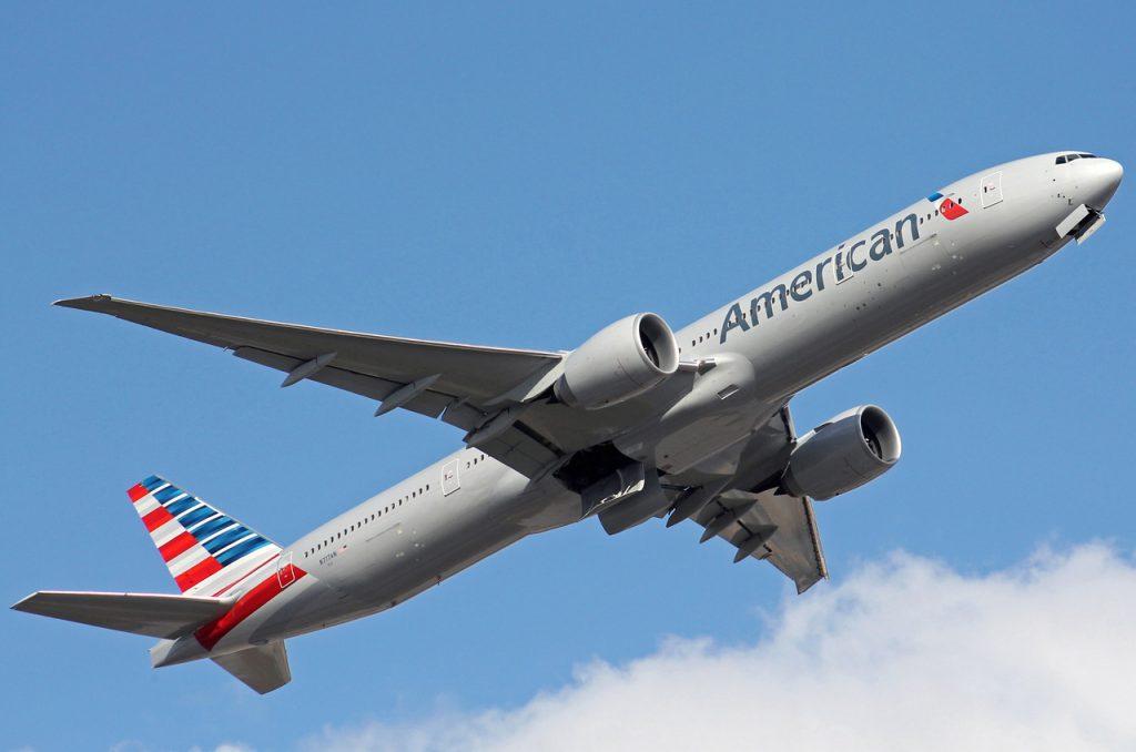 N717AN American Airlines Boeing 777-323