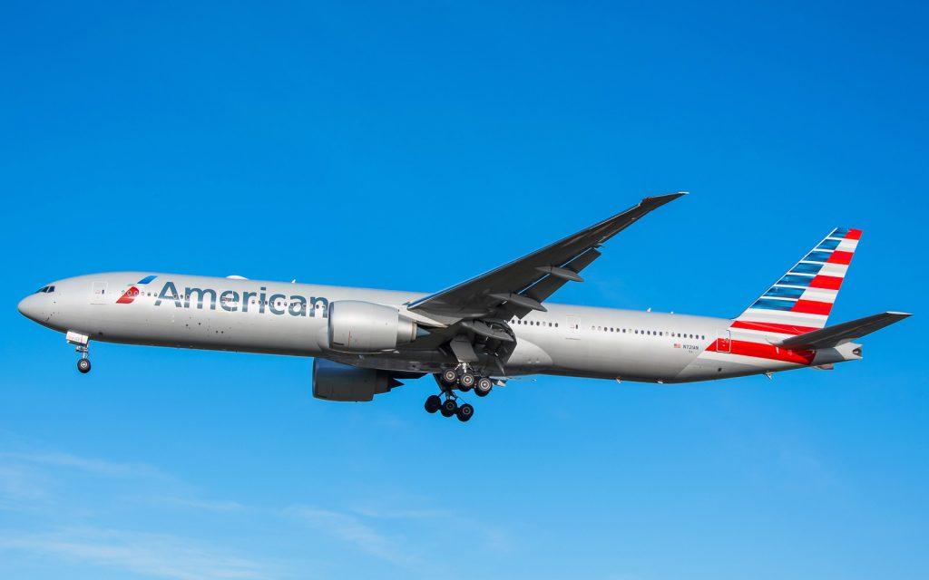 N721AN American Airlines Boeing 777-300er