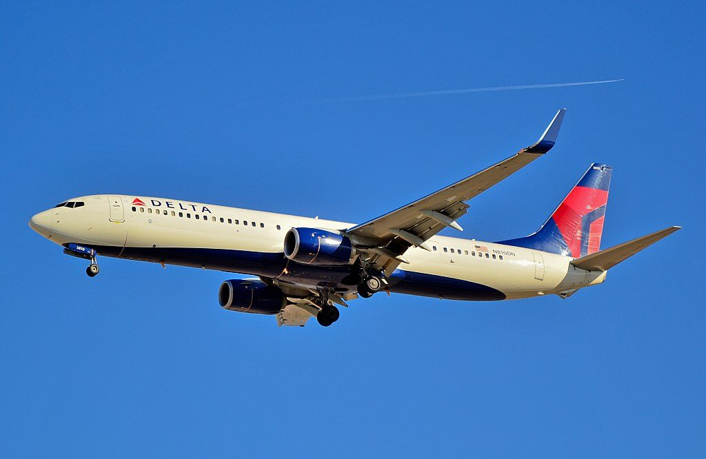 N810DN Delta Air Lines 2013 Boeing 737-932(ER) c-n 31922 - In 4708 Las Vegas - McCarran International Airport (LAS : KLAS) USA - Nevada