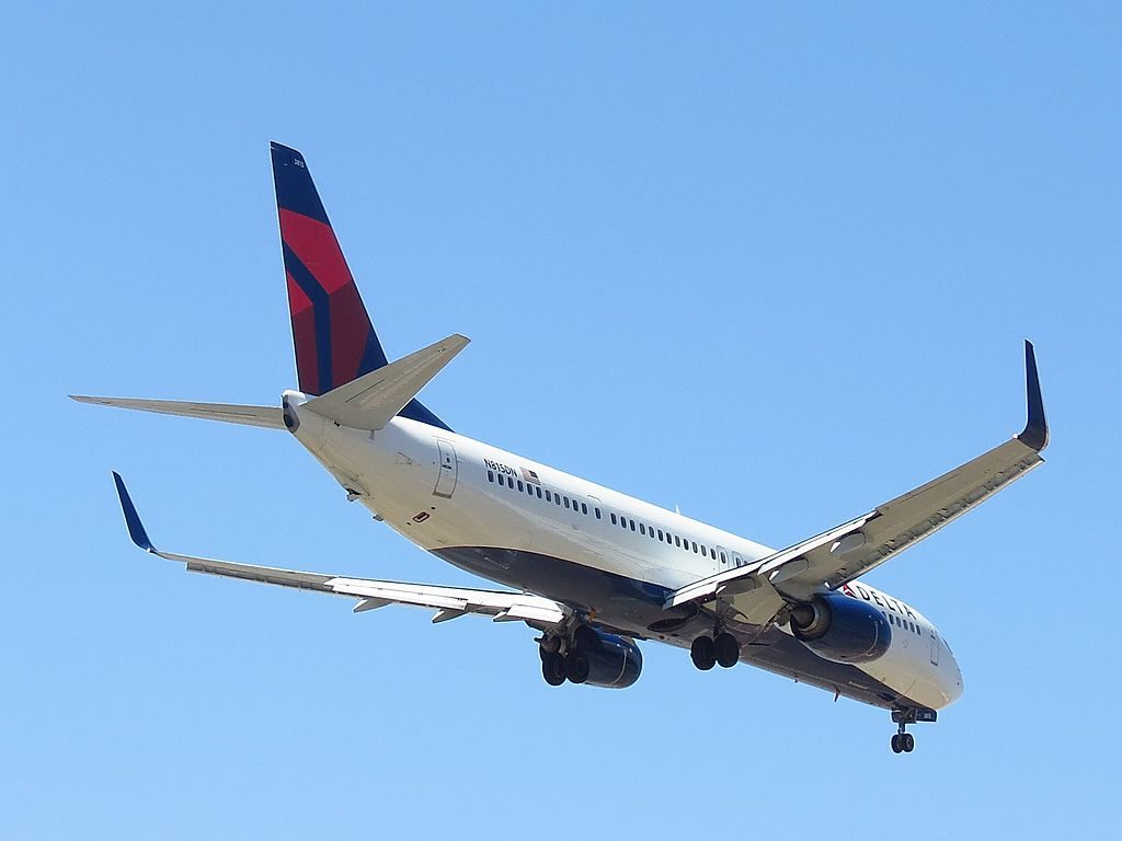 N815DN Delta Air Lines Boeing 737-900:ER Los Angeles International Airport
