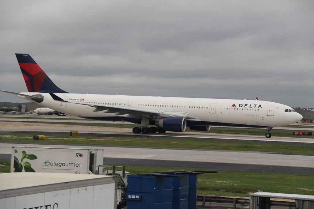 N820NW Airbus A330-300 Delta Air Lines At Hartsfield-Jackson Atlanta International