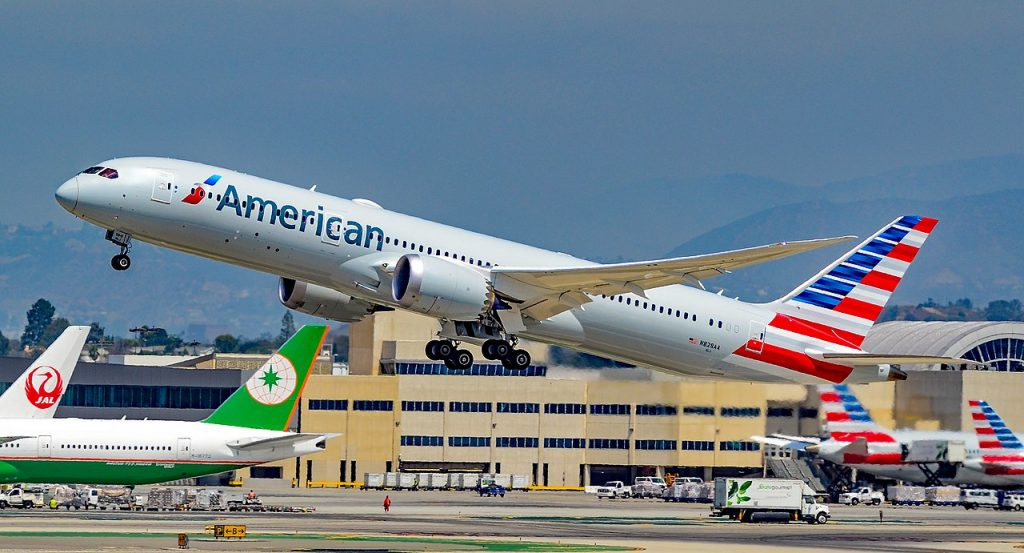 N828AA American Airlines Boeing 787-9 Dreamliner s-n 40698 at LAX