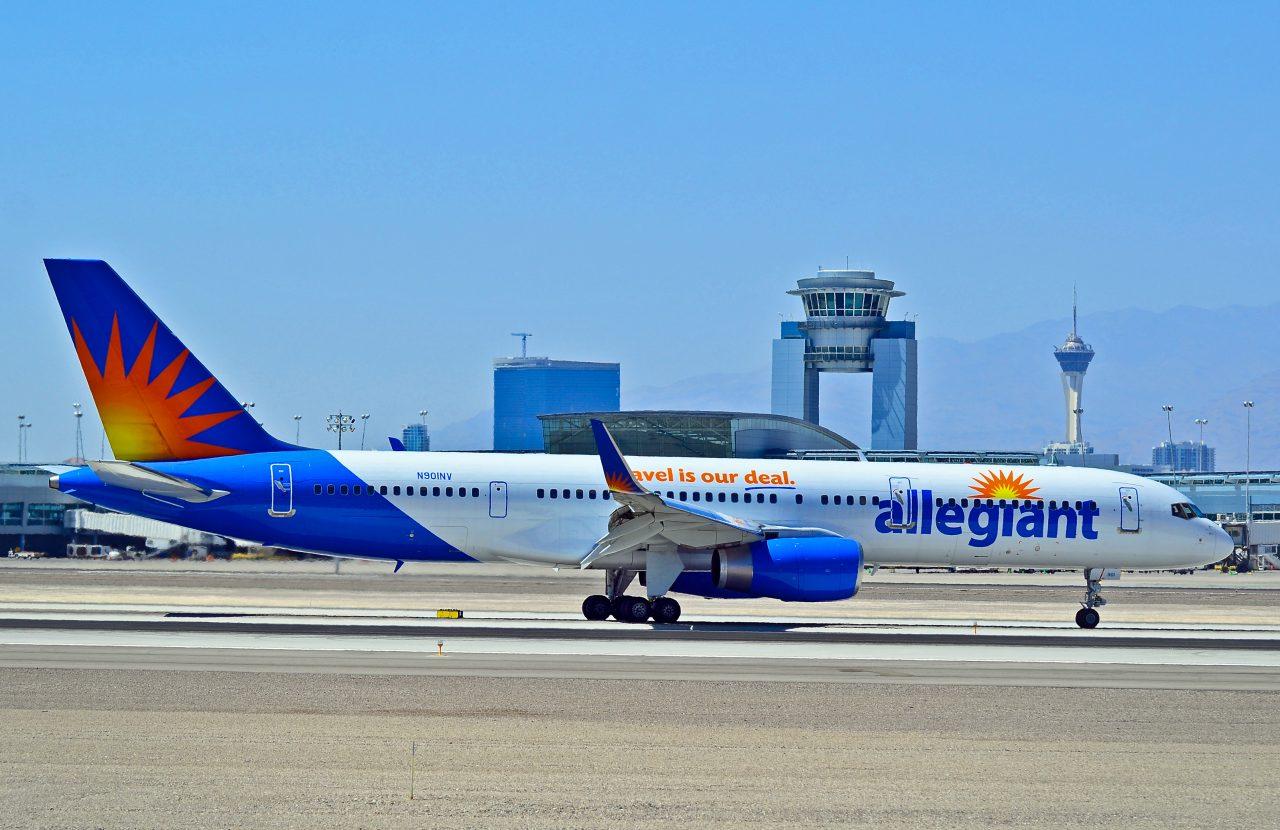 N901NV Allegiant Air 1992 Boeing 757-204(WL) - cn 26963
