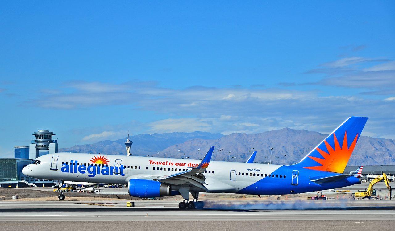 N905NV Allegiant Air Boeing 757-204 - cn 27235