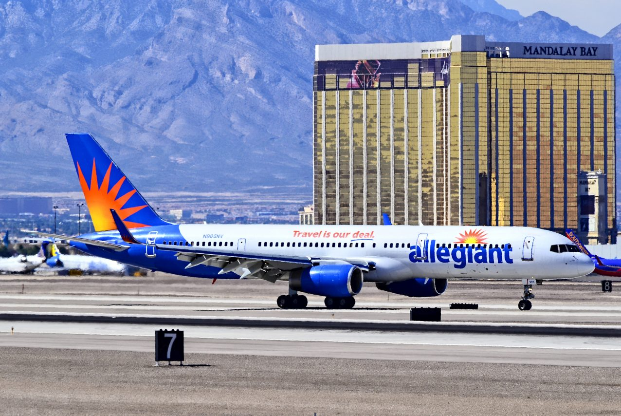 N905NV Allegiant Air Retired Fleet Boeing 757-204 - cn 27235 - ln 598