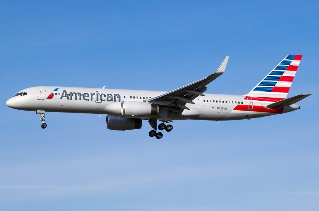 N939UW American Airlines Boeing 757-2b7wl