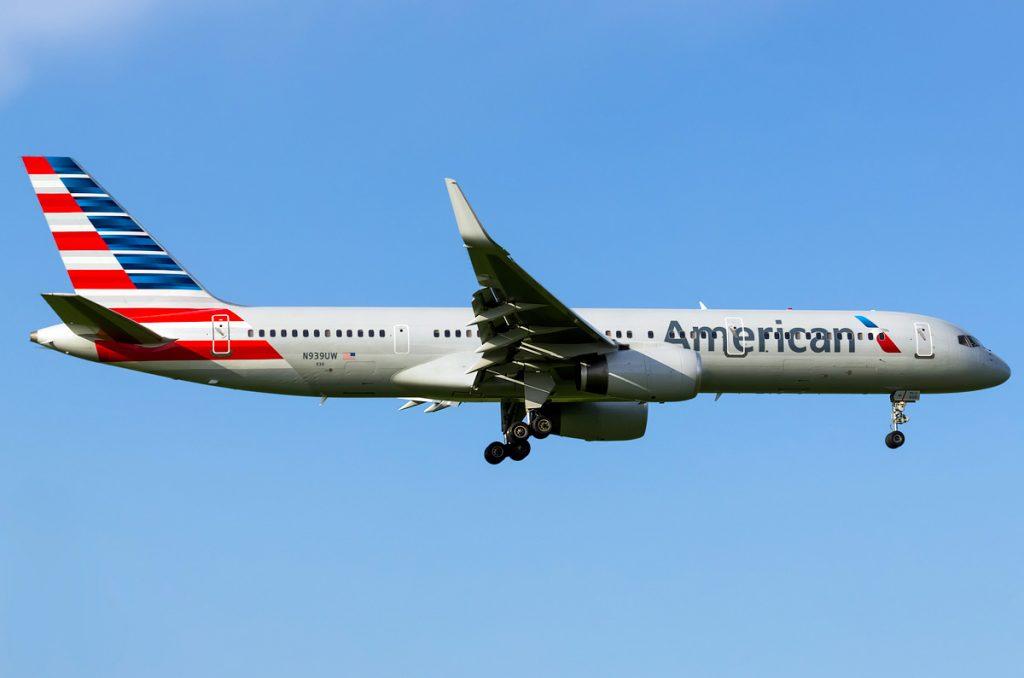 N939UW american airlines boeing 757-200