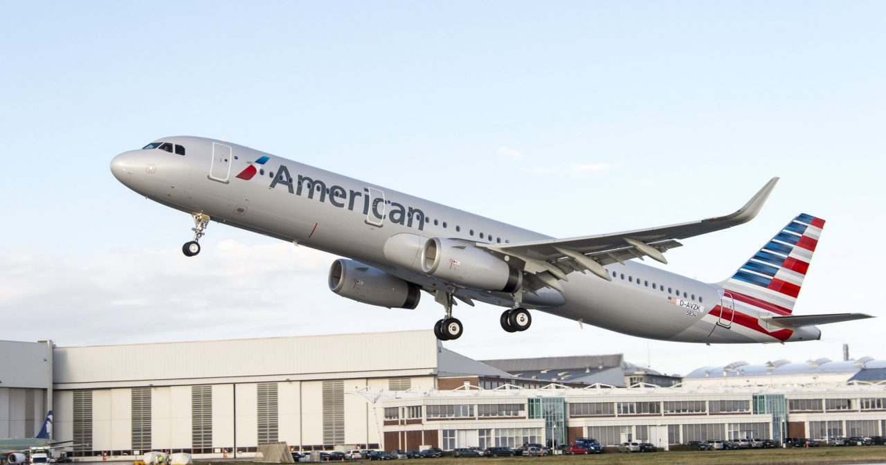 New Aircraft American Airlines Airbus A321-200 Fleet Pictures