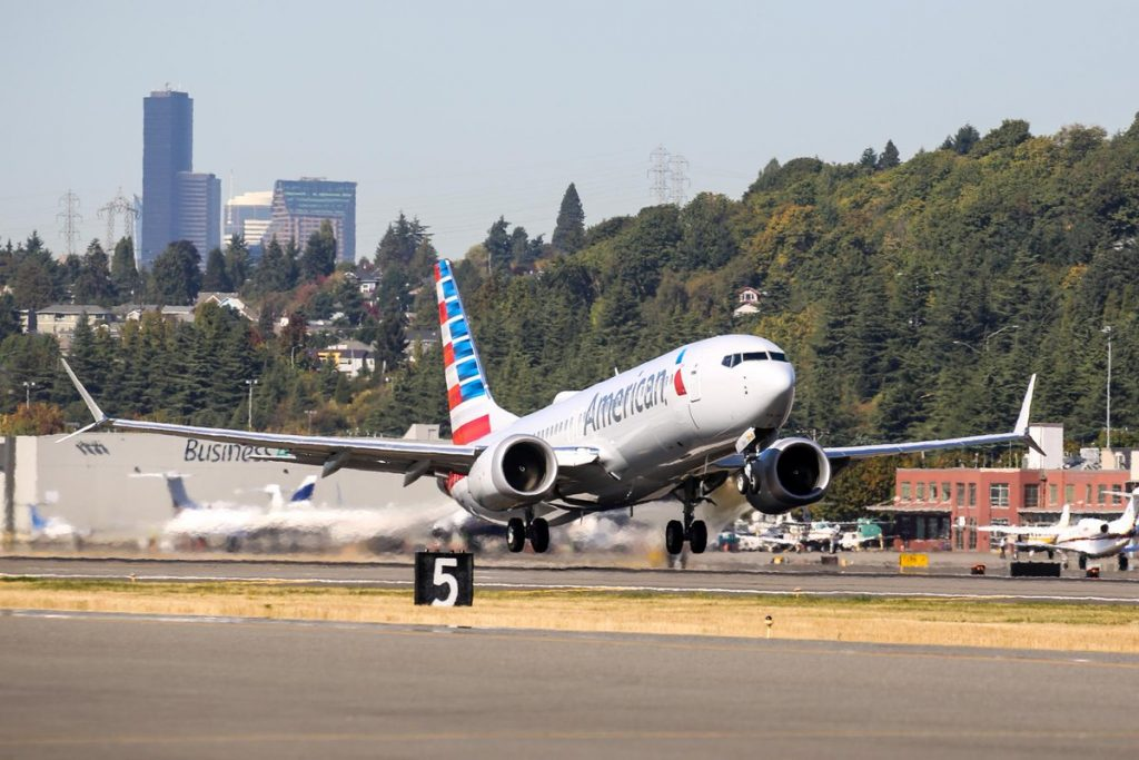 New Aircraft Boeing 737 Max 8 American Airlines Fleet