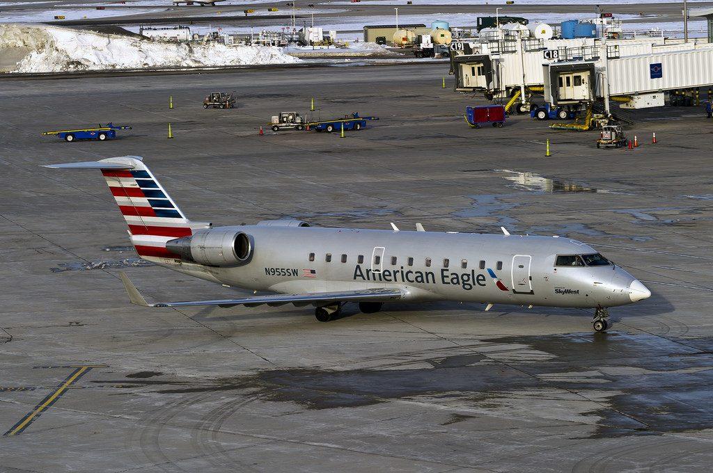 Skywest (American Eagle) Canadair CL-600-2B19 Regional Jet CRJ-200ER