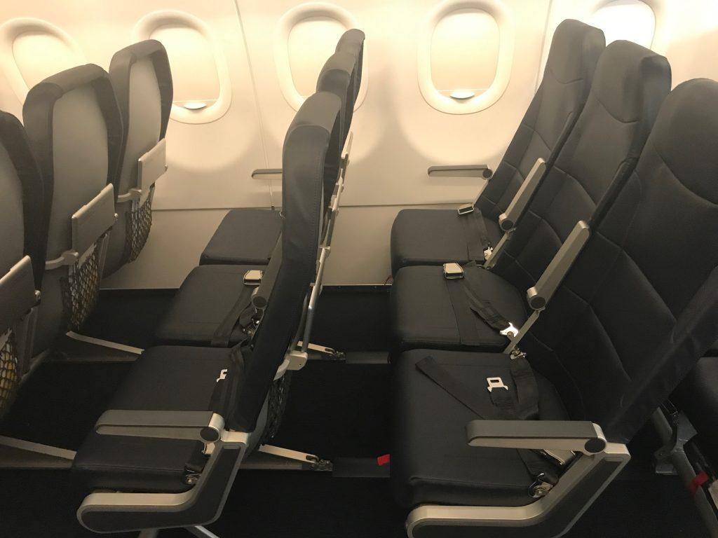 allegiant air airbus a320-200 seating configuration