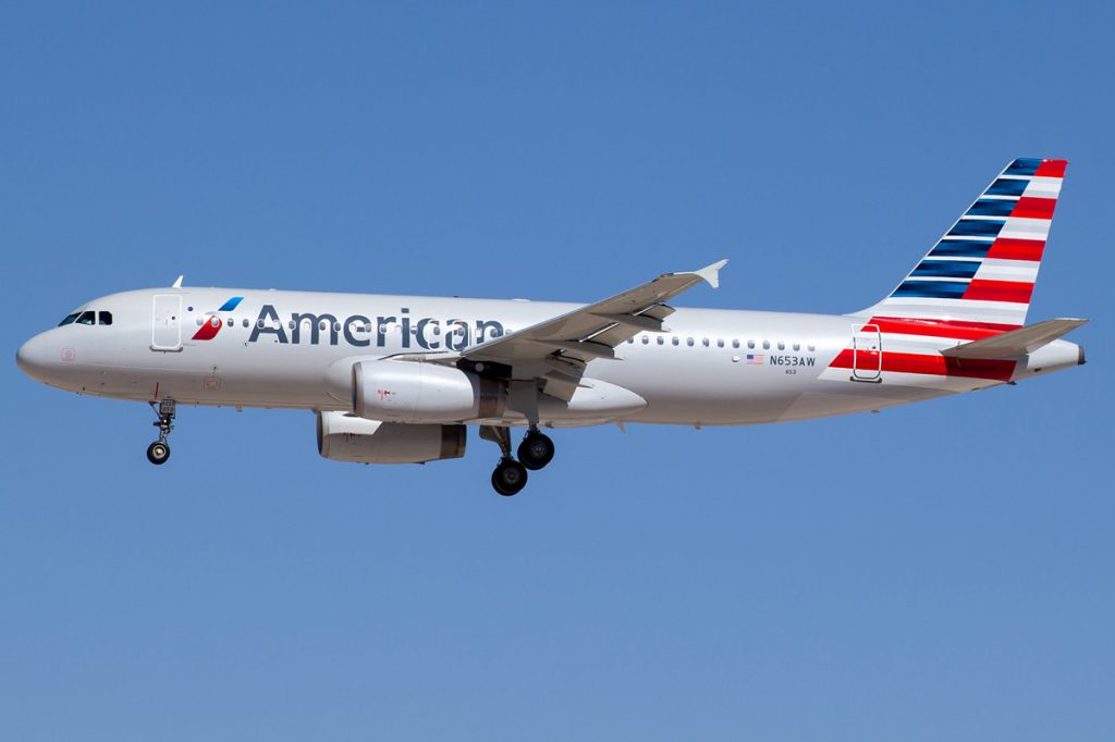 n653aw American Airlines Airbus A320-232