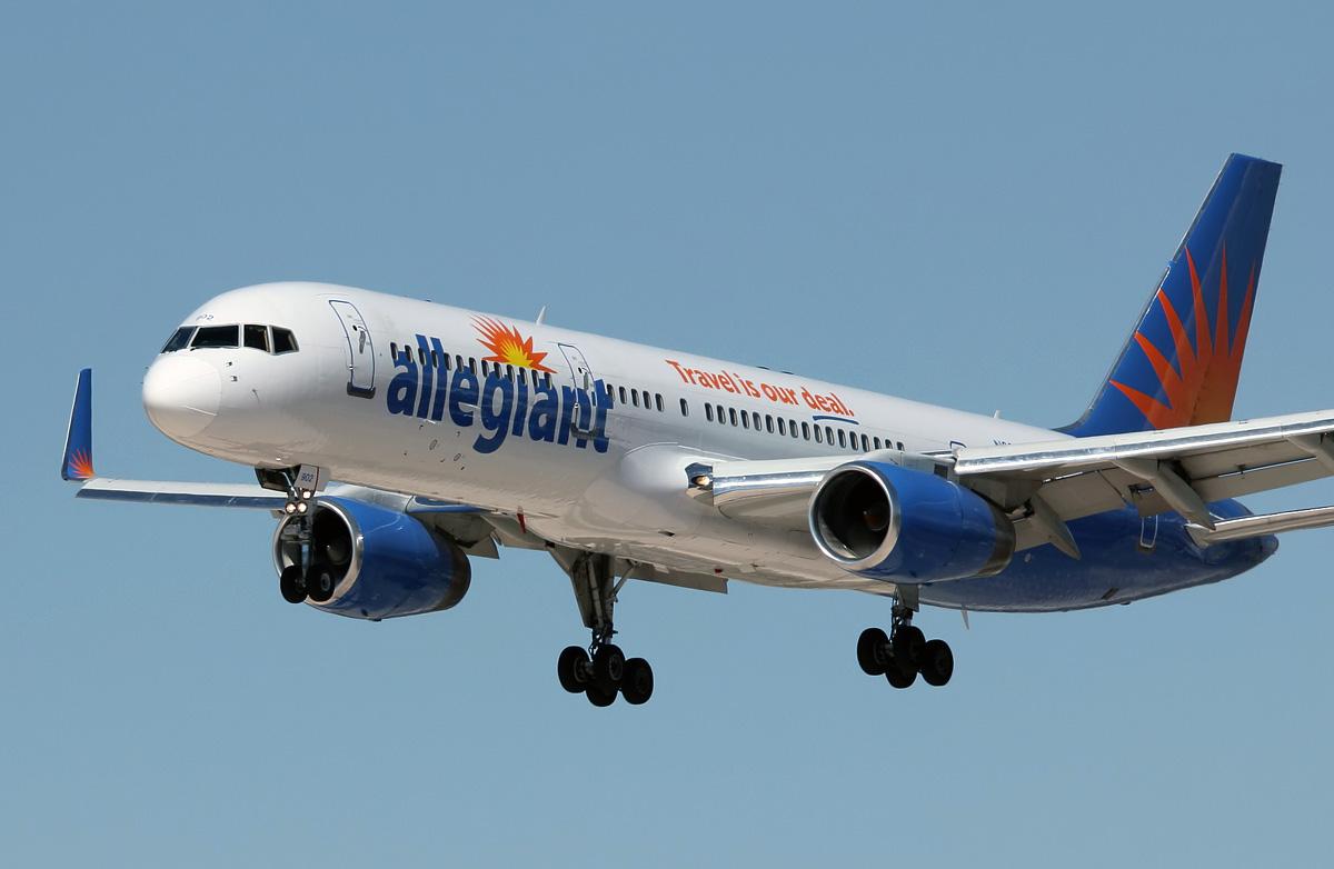 n902nv allegiant air boeing 757-204wl
