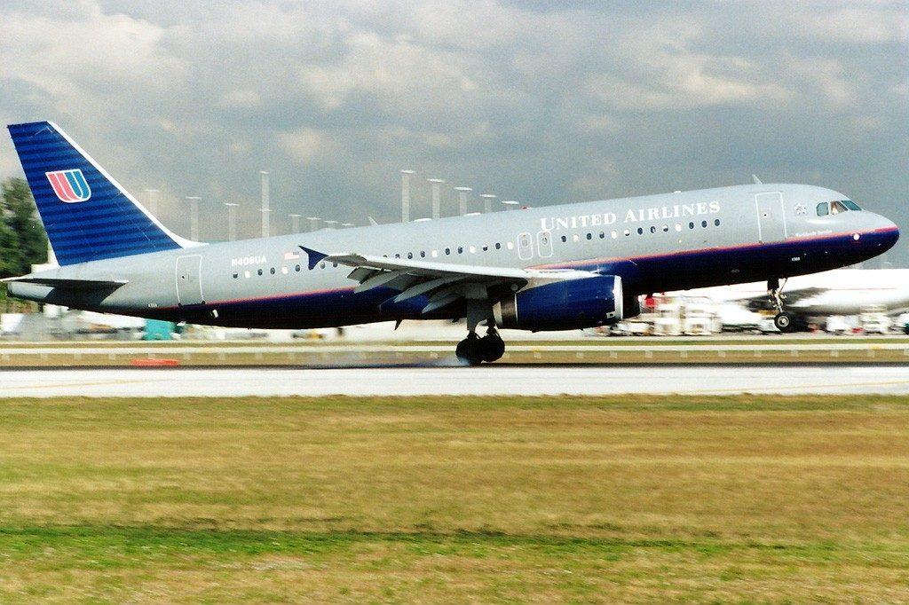 Airbus A320-232, United Airlines Fleet Registration N408UA at Miami - International (Wilcox Field : 36th Street : Pan American Field) (MIA : KMIA), USA - Florida