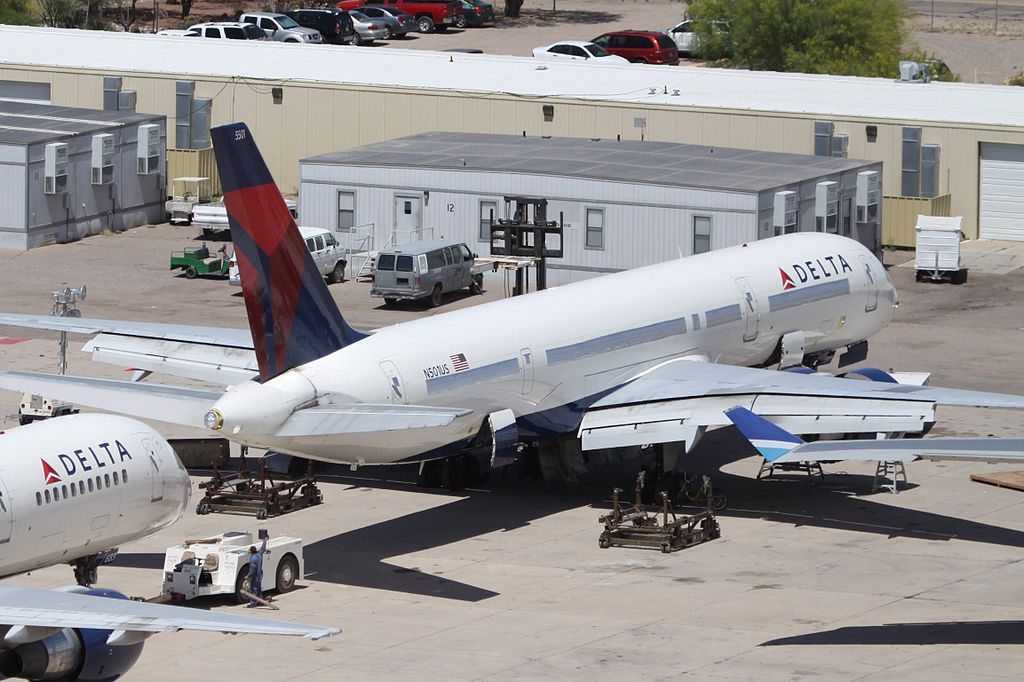 Delta Air Lines Boeing 757-200 N501US at Marana Pinal Airpark Arizona Airport