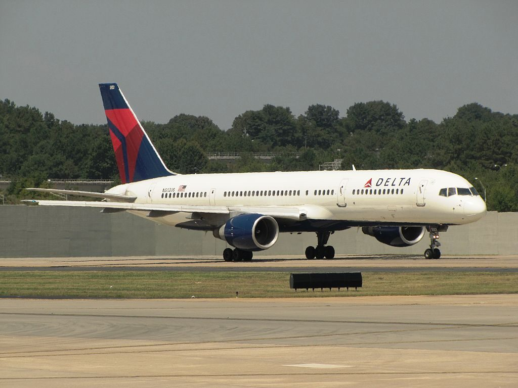 Delta Air Lines Boeing 757-200 N502US at Hartsfield-Jackson Atlanta International Airport
