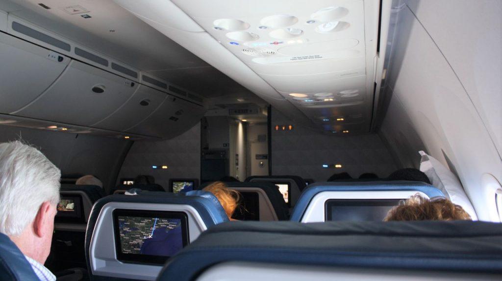 Delta Air Lines Boeing 757-200 Premium Economy (Comfort+) Class Inflight Cabin Photos
