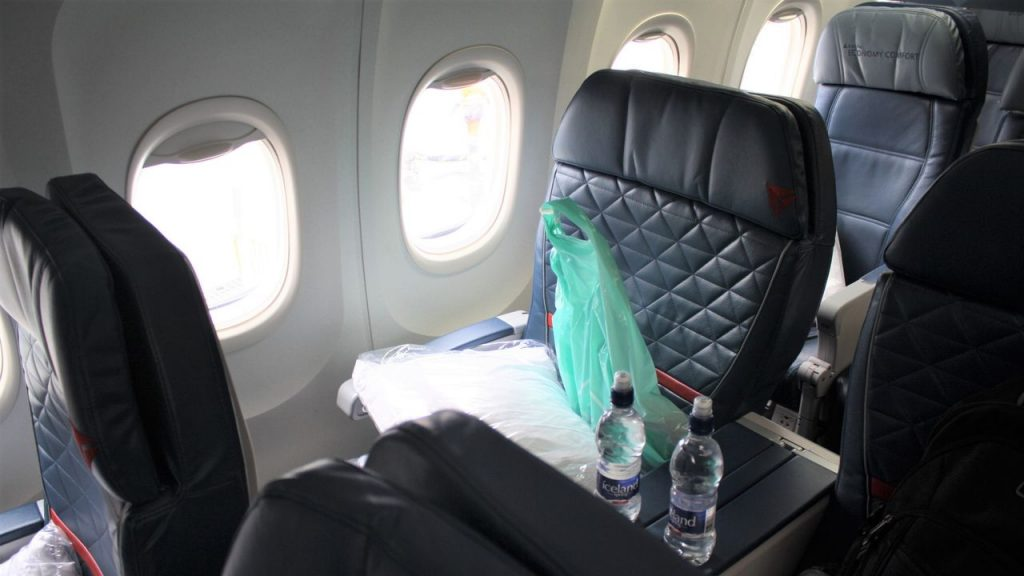 Delta Air Lines Boeing 757-200 Premium Economy (Comfort+) Class Seats Photos