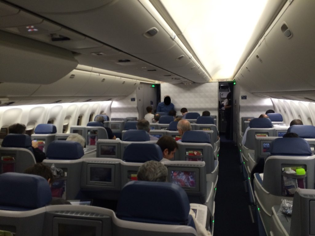 Delta Air Lines Boeing 767-300ER Business Elite (First Class Delta One) Cabin Interior Photos
