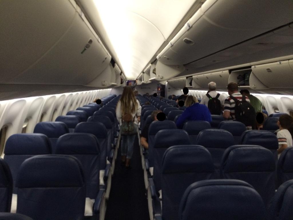 Delta Air Lines Boeing 767 300er Main Cabin Economy Class Interior Photos