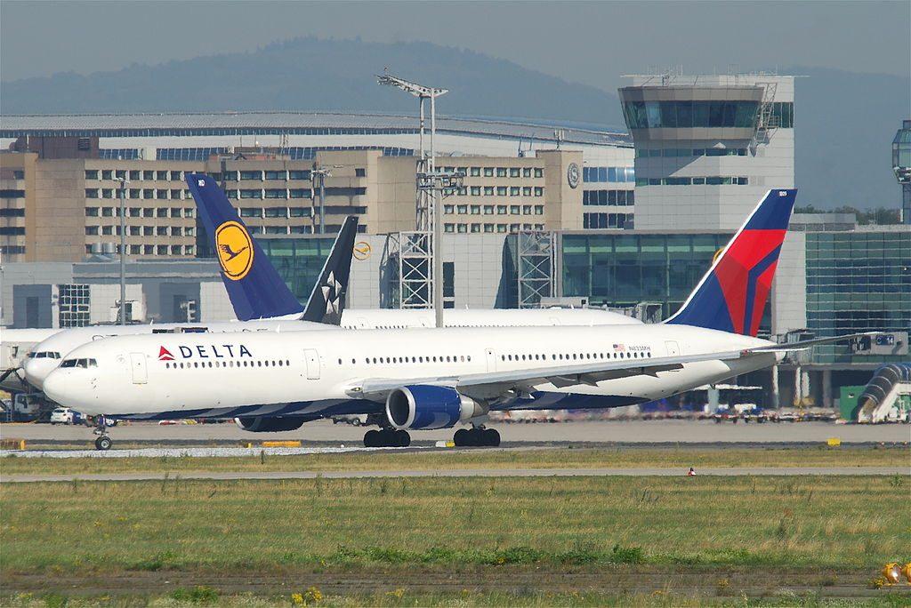 Delta Air Lines Boeing 767-432ER; N833MH @FRA Frankfurt Airport (IATA- FRA, ICAO- EDDF) Germany