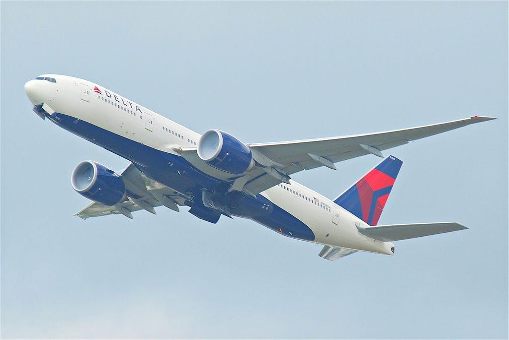 Delta Air Lines Boeing 777-200LR; N709DN @HKG Hong Kong International Airport (IATA- HKG, ICAO- VHHH) Chek Lap Kok