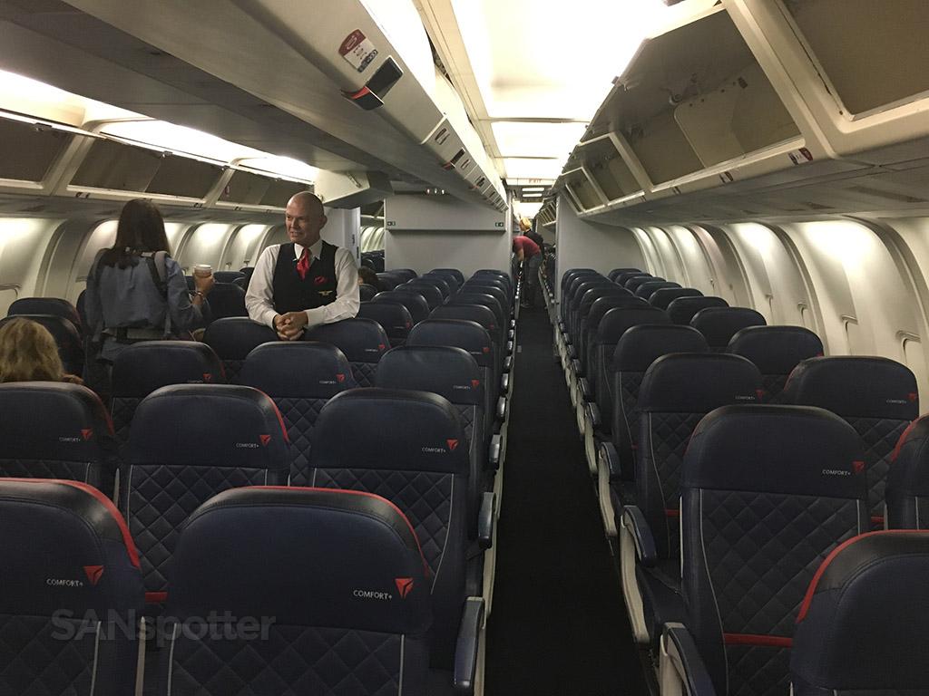 Delta Air Lines Fleet Boeing 767-300 Domestic Premium Economy (Comfort+) Cabin and Seats Layout Configuration Photos