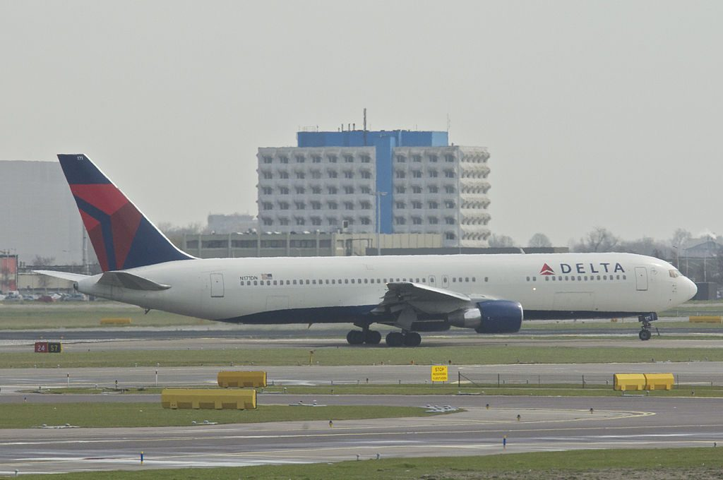 Delta Air Lines Fleet Boeing 767-300; N171DN @AMS Amsterdam Airport Schiphol Netherlands