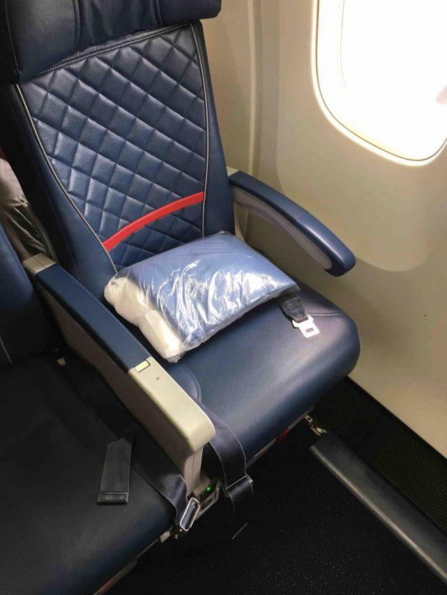 Delta Air Lines Fleet Boeing 767-300 domestic premium economy comfort+ window seats photos