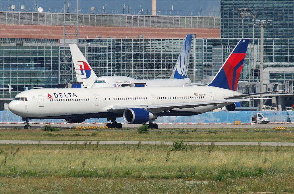 Delta Air Lines Fleet Boeing 767-400ER N827MH @FRA Frankfurt Airport (IATA- FRA, ICAO- EDDF)