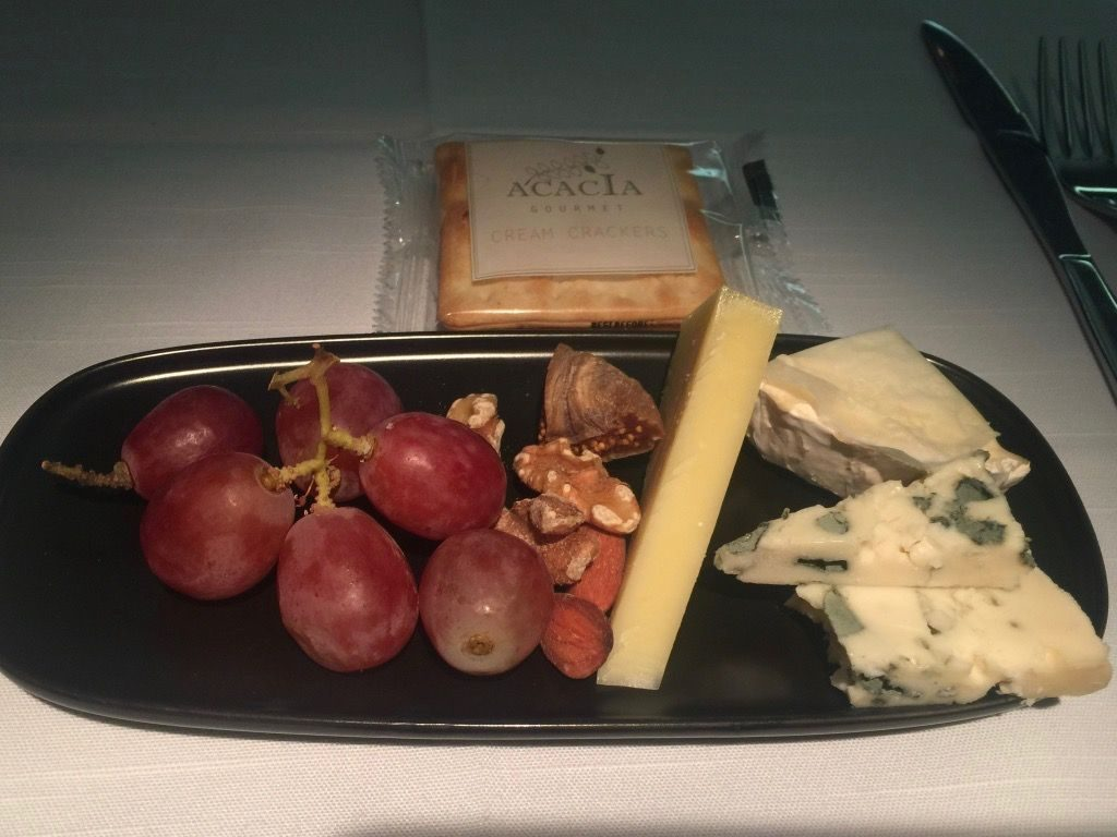 Delta Air Lines Fleet Boeing 777-200ER Business Elite Class (DELTA ONE) inflight food services dessert menu