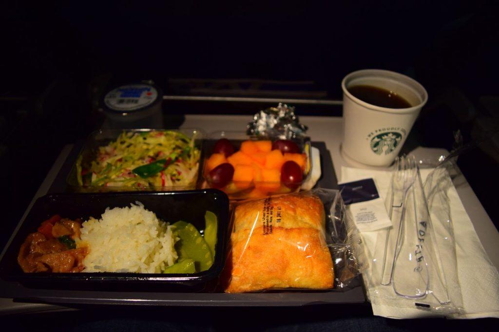 Delta Air Lines Fleet Boeing 777-200ER Premium Economy (Comfort+) pre-arrival meal food menu services