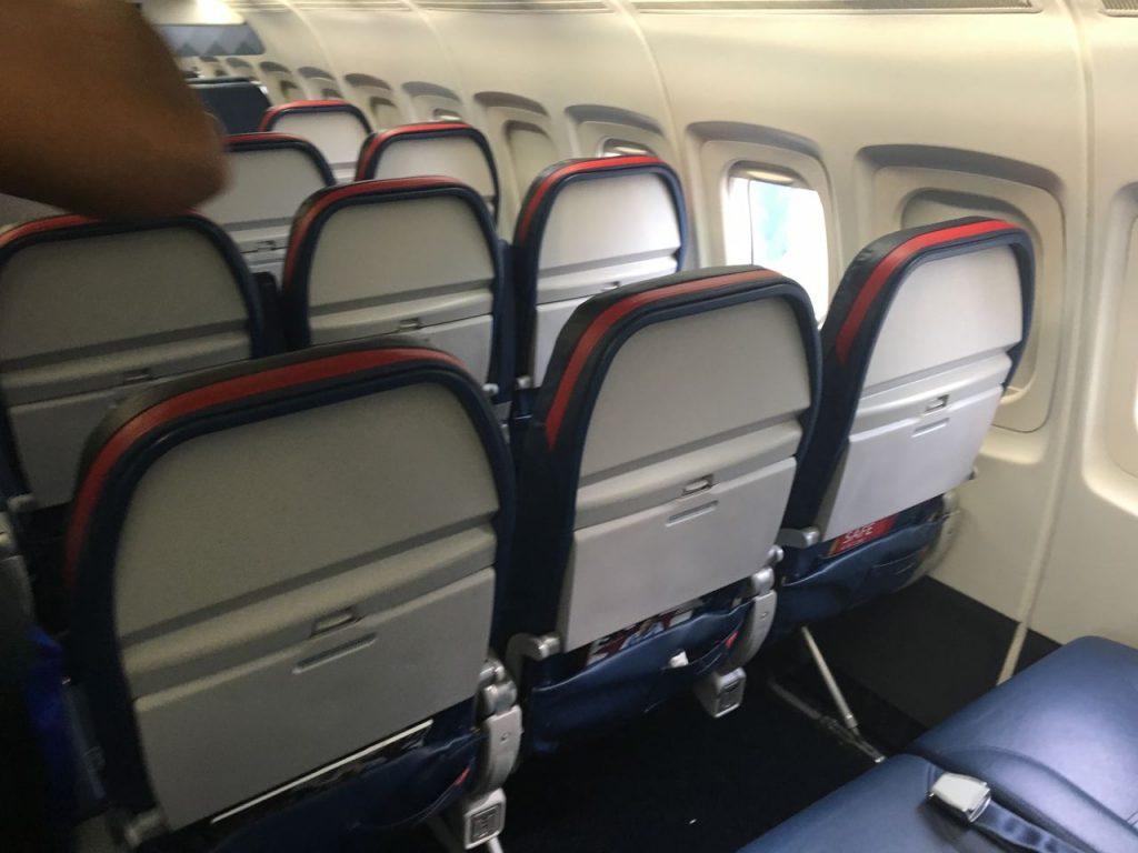 Delta Air Lines Fleet McDonnell Douglas MD-90-30 (M90) Premium Economy Comfort+ Seats View