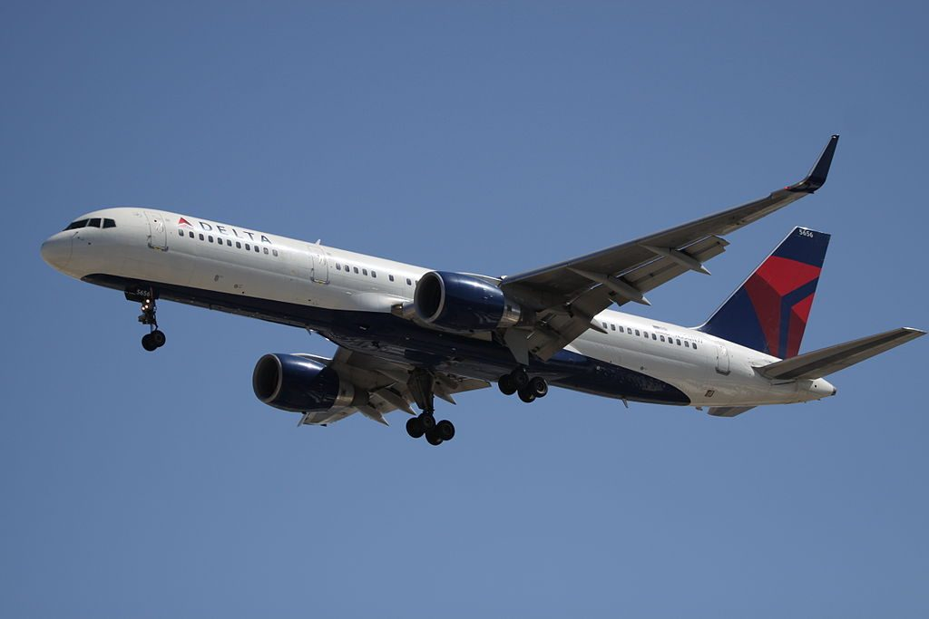 Delta Air Lines N556NW Boeing B.757-200WL at Las Vegas McCarran International Airport