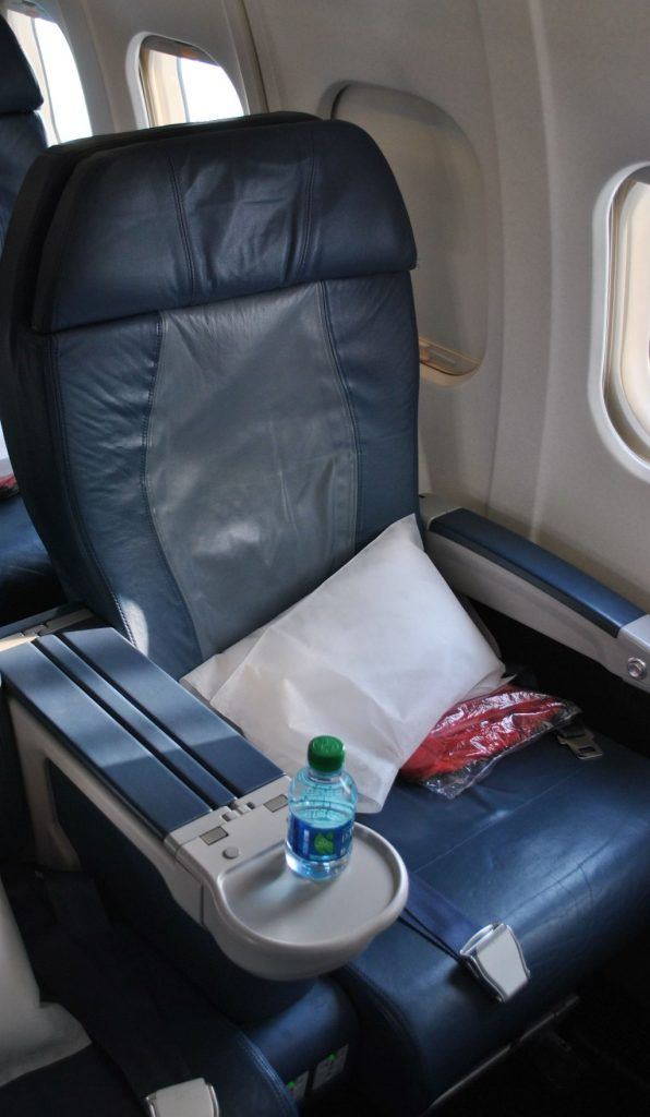 Delta Air Lines Regional Jet Fleet McDonnell Douglas MD-88 First Class Domestic Seats Photos
