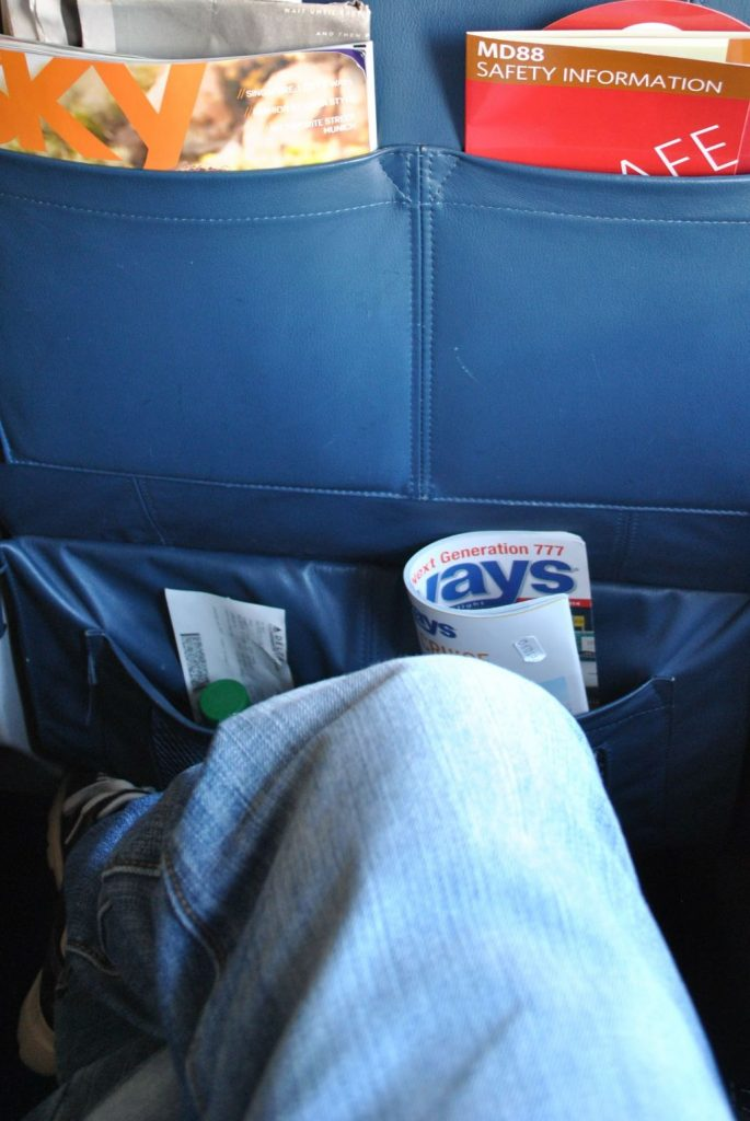 Delta Air Lines Regional Jet Fleet McDonnell Douglas MD-88 First Class Seats Pitch Legroom Photos