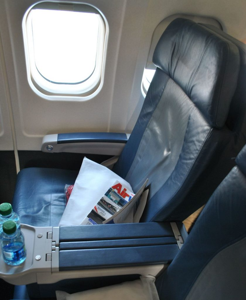 Delta Air Lines Regional Jet Fleet McDonnell Douglas MD-88 First Class Window Seats Photos